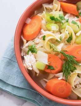 donal skehan clever chef chicken noodle soup