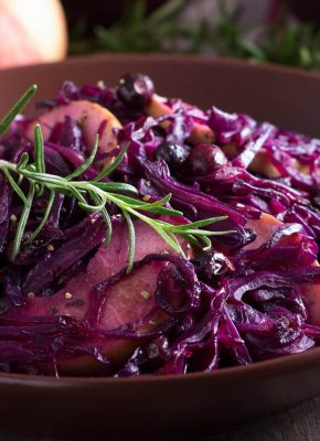 pressure king pro braised red cabbage 5L