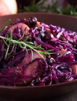 pressure king pro braised red cabbage 6L