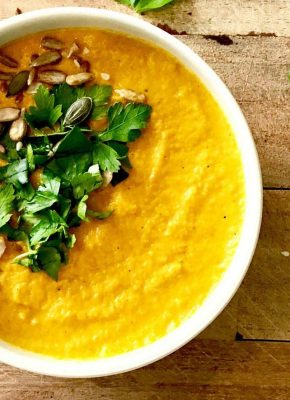 pressure king pro carrot and coriander soup 5L recipe