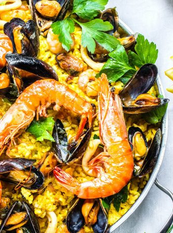 pressure king pro chicken and seafood paella 5L