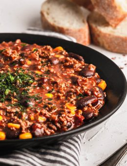 pressure king pro chilli con carne 3L recipe