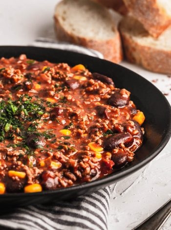 pressure king pro chilli con carne 5L recipe