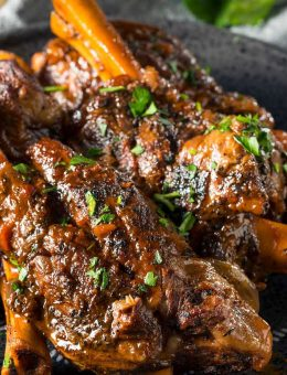 pressure king pro lamb shanks 5L recipe