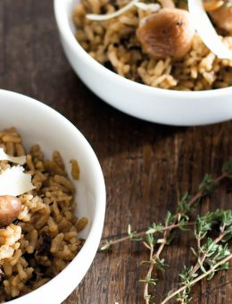 pressure king pro wild mushroom risotto 6L recipe